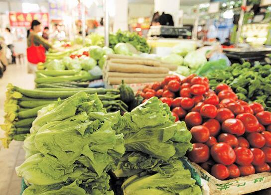 雪后蔬菜价格回落 蔬菜市场运营逐渐回归正常